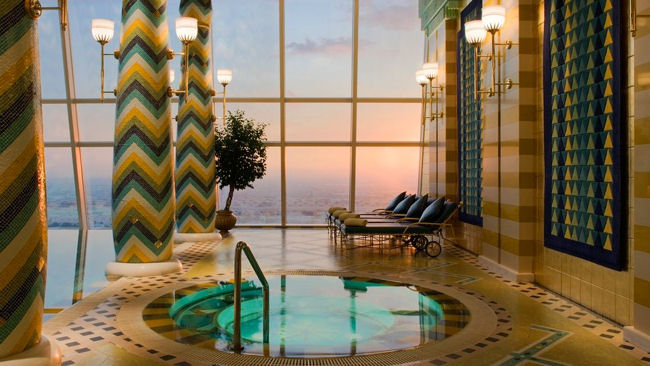 Dubai's Burj Al Arab Offers Ultimate Fitness Retreat