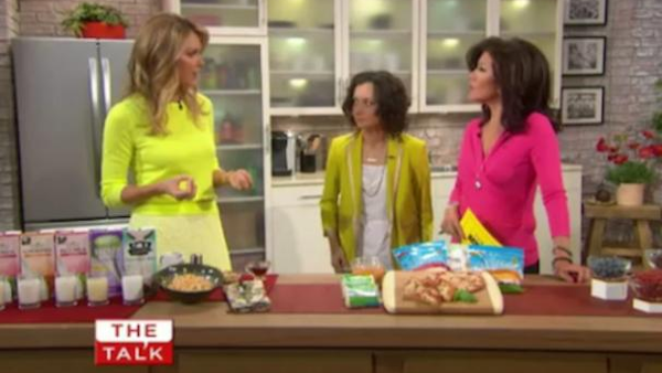 Kathy Freston on The Talk tv show