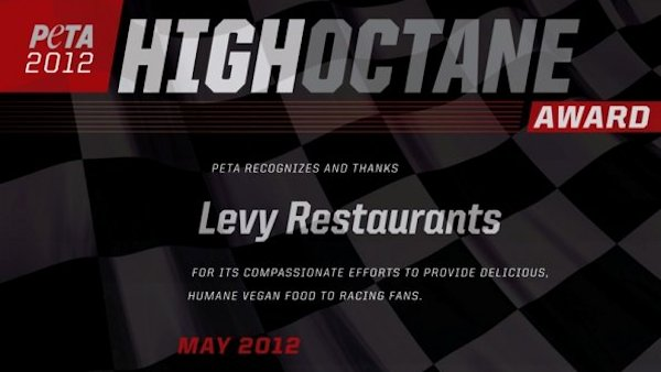 PETA honors NASCAR & IndyCar tracks for vegan food offerings