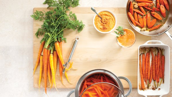 Vegan Recipe: Curried Carrot Soup