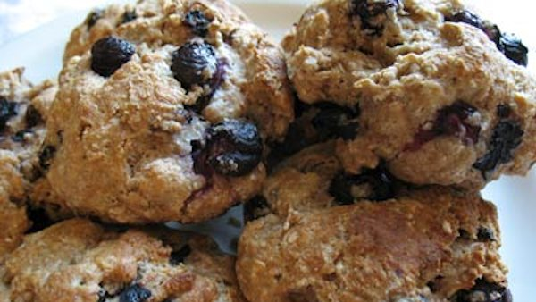 Vegan Recipe: Blueberry Mini-Biscuits
