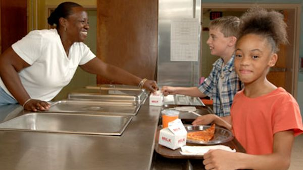 health concerns with milk in school lunches