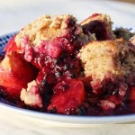 Vegan Dessert Recipe: Healthy Blackberry-Peach Cobbler