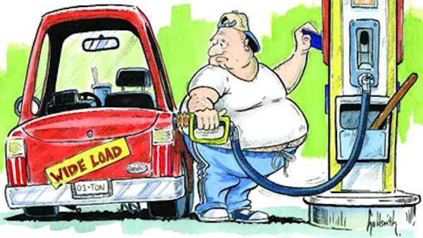 American Obesity: The Biggest Threat to Fuel Economy?