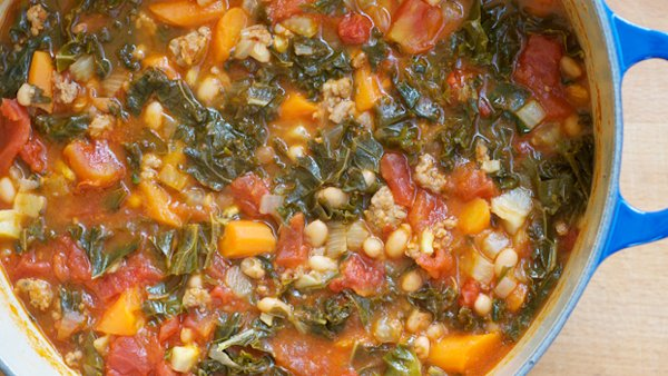 Ribollita literally means to 'reboil' because the soup is better ...