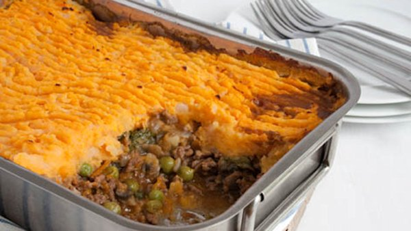 Vegan Dinner Recipe: Moroccan-Style Shepherd's Pie