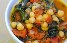 Vegan Dinner Recipe: Traditional Spanish Chickpea Stew