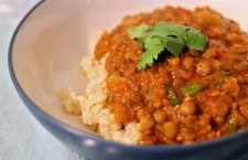Vegan Recipe: Curried Lentil and Tomato Stew