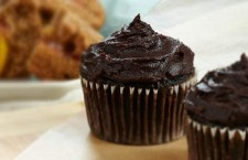 Vegan Dessert Recipe: Double Chocolate Cupcakes