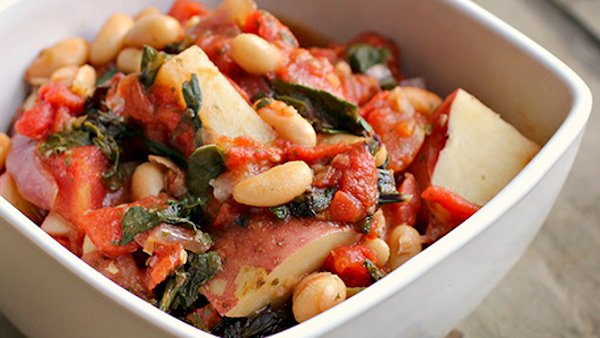 Italian Kale Bean Potato stew