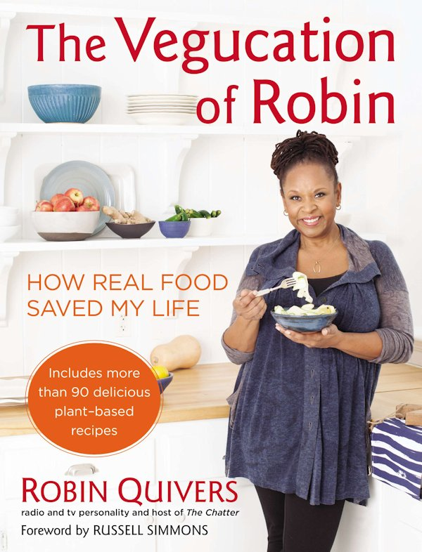 The Vegucation of Robin book cover