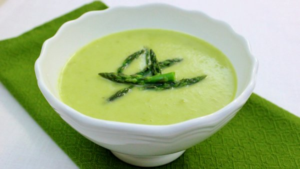 Vegan Recipe: Cream of Asparagus Soup