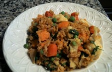 Vegan Recipe: Sweet Potato and Cauliflower Rice Pilaf