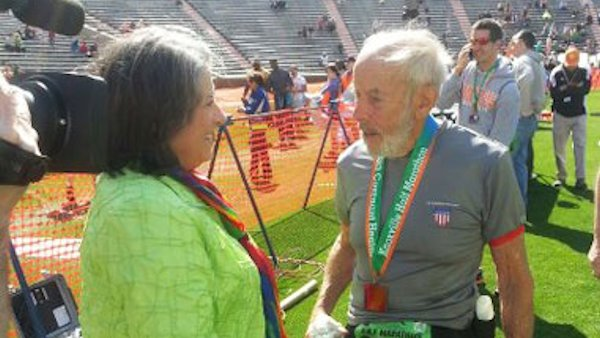 Mike Fremont, 91 Year Old Vegan, Finishes Knoxville Half Marathon in 3:04