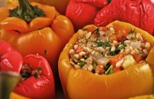 Vegan Recipe: Greek Stuffed Peppers