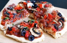 Vegan Recipe: Quick Veggie Pizza