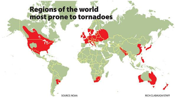 Tornadoes linked to Factory Farming?