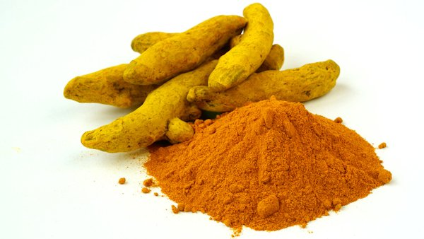 Curcumin root and powder