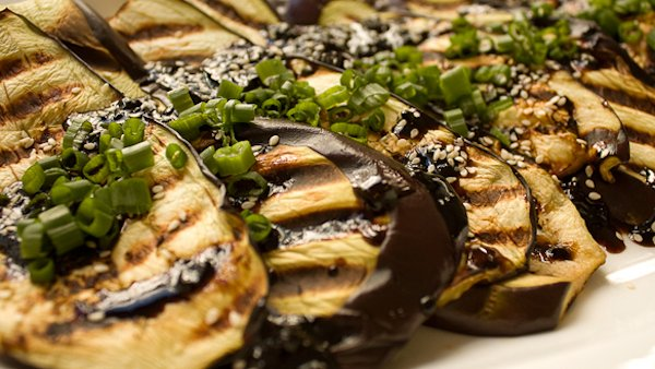 Vegan Recipe: Barbecued Eggplant Steaks