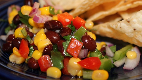 Vegan Recipe: Black Bean Fiesta Salad