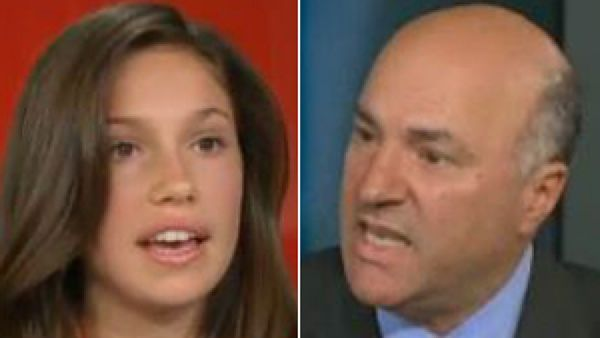 Rachel Parent and Kevin O'Leary