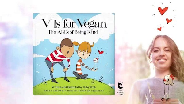 V is for Vegan, Children's Book Trailer