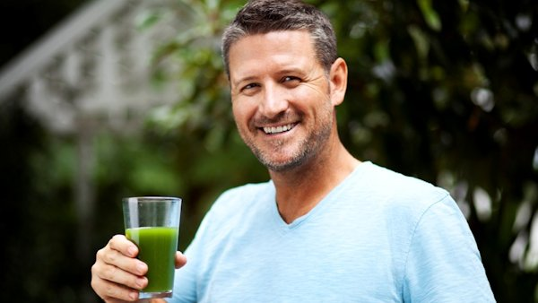 Juicing with Joe Cross of 'Fat, Sick & Nearly Dead'