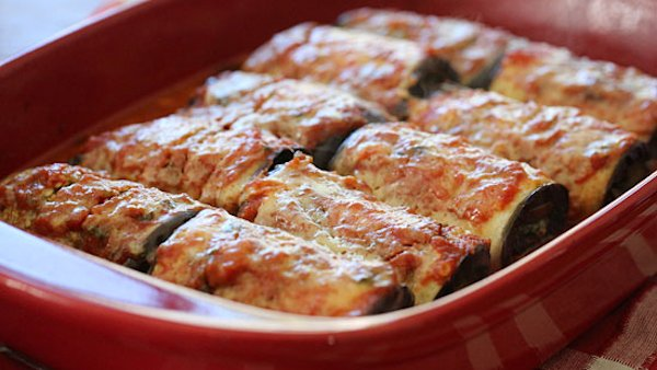 Vegan Dinner Recipe: Eggplant Rollatini