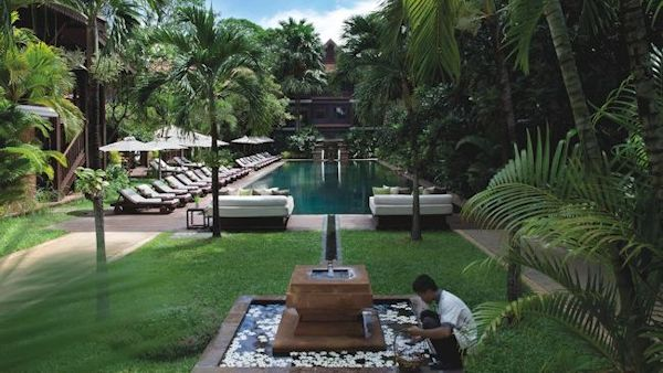 La Résidence d'Angkor Launches Luxury Fitness Retreat with Exercises Among the Temples
