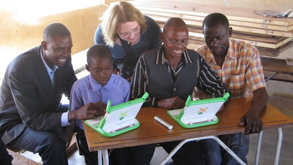 Zambia's Twabuka Community School Receives Donated Laptop Computers