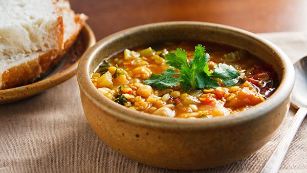 Vegan Recipe: Moroccan Red Lentil Soup