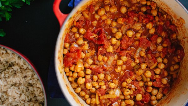 Vegan Dinner Recipe: Chana Masala
