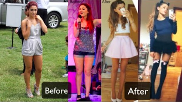 Ariana Grande Shows Off Weight Loss On A Vegan Diet