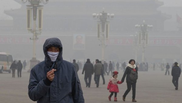Watch Chinese Air Pollution Work Its Way Around the World in This Scary NASA Animation