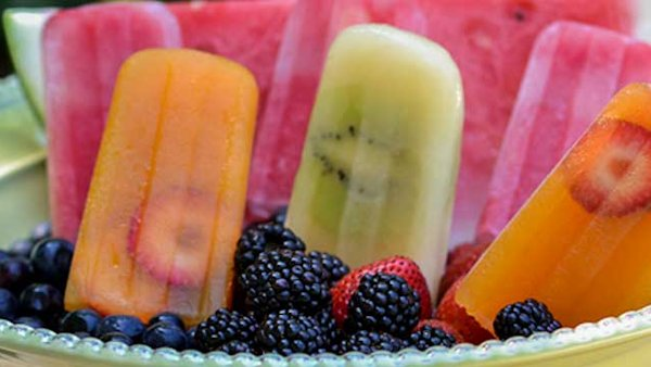 Summer Kickoff: Fruit & Herb Popsicles