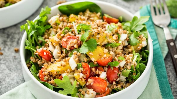 Vegan Recipe: Roasted Buckwheat Salad