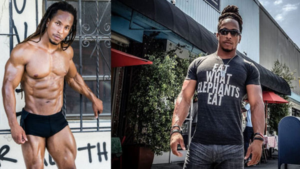 Torre Washington, Vegan Bodybuilder
