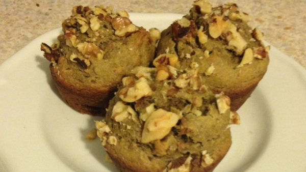 VeganSmart Banana Walnut Muffin Recipe
