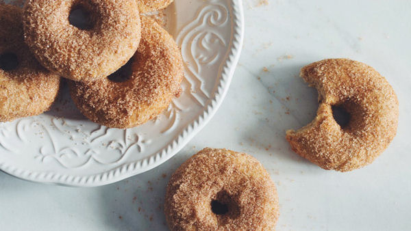 Vegan Recipe: Gluten-Free Cinnamon Sugar Donuts