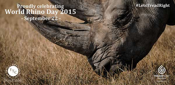 African Travel, Inc. Celebrates World Rhino Day, Sept. 22