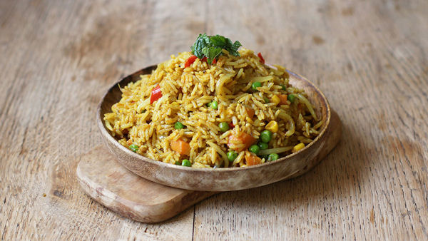 Vegan Recipe: Curried Coconut Rice