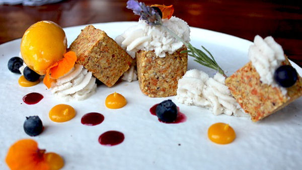 Vegan Dessert Recipe: Raw Carrot Cake
