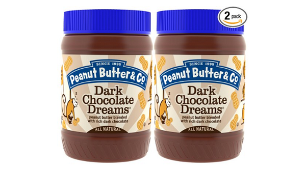 Peanut Butter & Co. Dark Chocolate Dreams, Vegan Alternative to Nutella