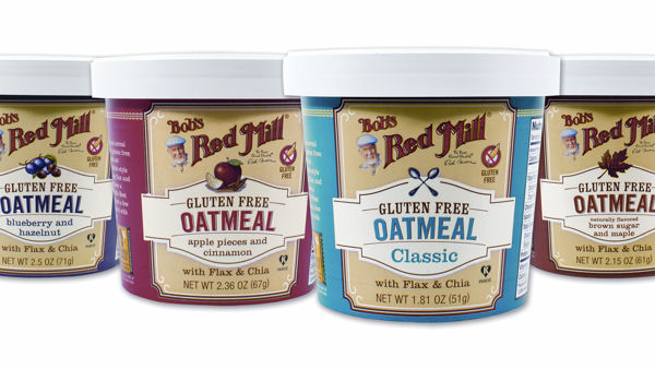 Bob's Red Mill Oatmeal Now in Convenient On-the-go Cups