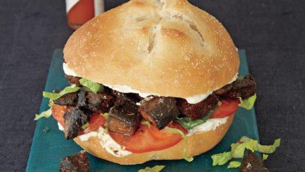 Vegan Recipe: Portobello Po'boys