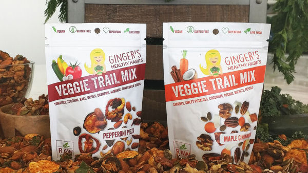 Ginger's Healthy Habits Introduces Veggie Trail Mix in Pepperoni Pizza Flavor