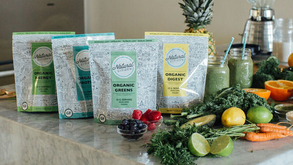 The Natural Citizen Launches Plant-Based Nutrition Blends