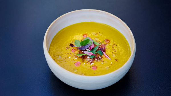 Vegan Recipe: Carrot Soup Za'atar with Smoked Paprika