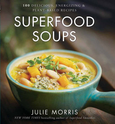 superfood soups book cover