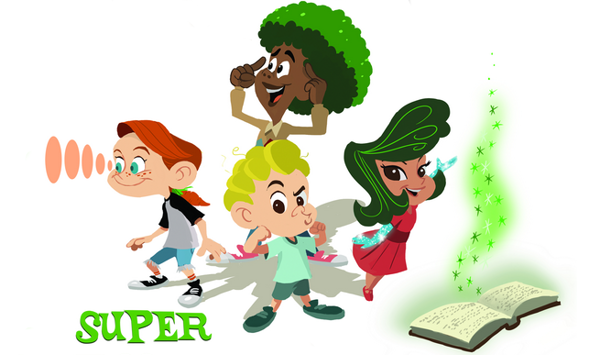 Plant-based superhero stories (and recipes) for grades K-3